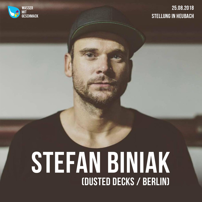 Stefan Biniak Wasser mit Geschmack